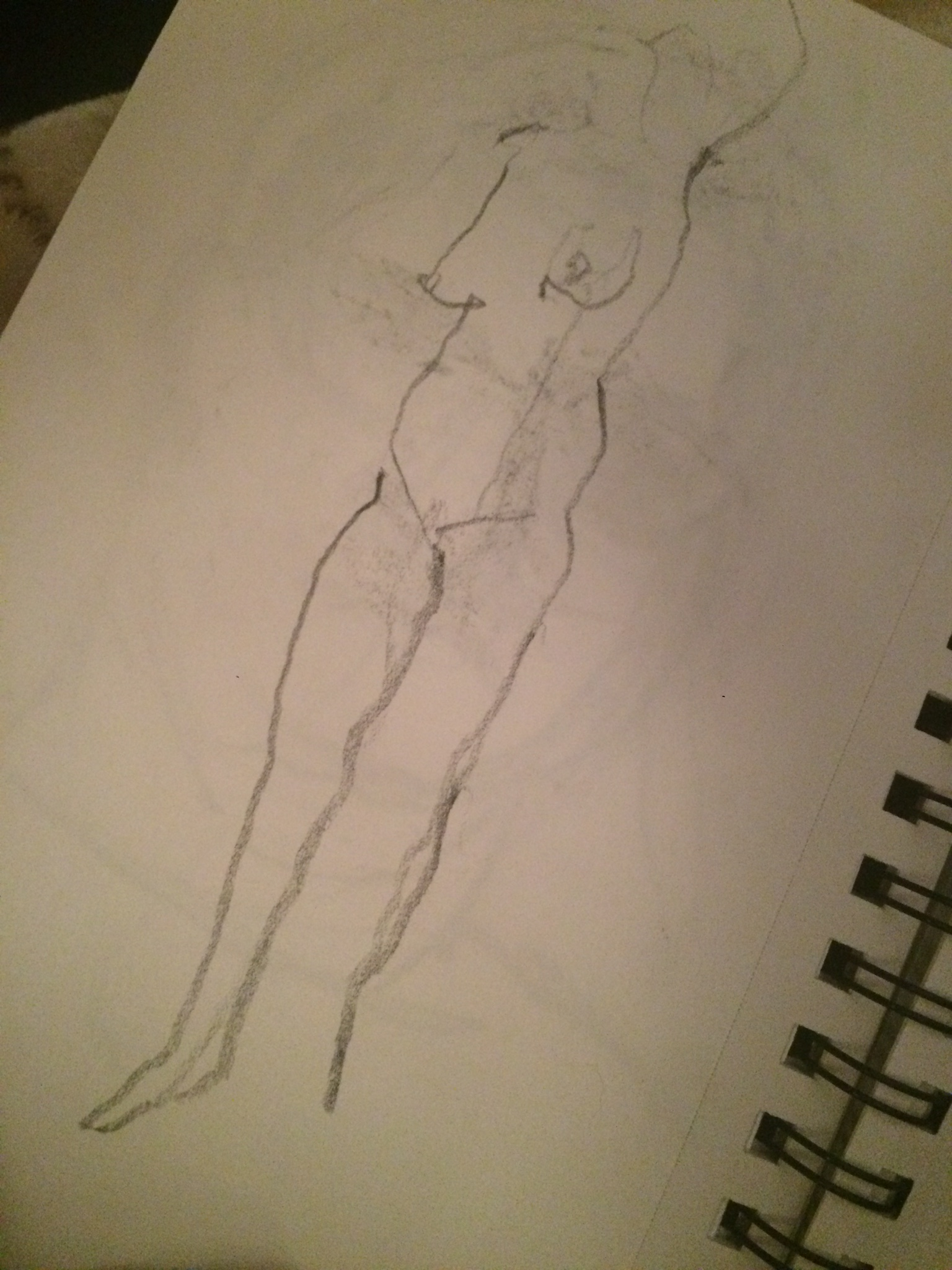 Female Figure, Hip Up